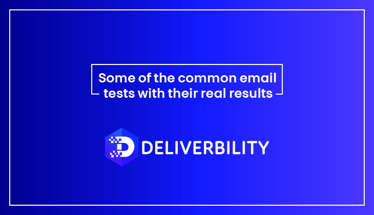 common email tests