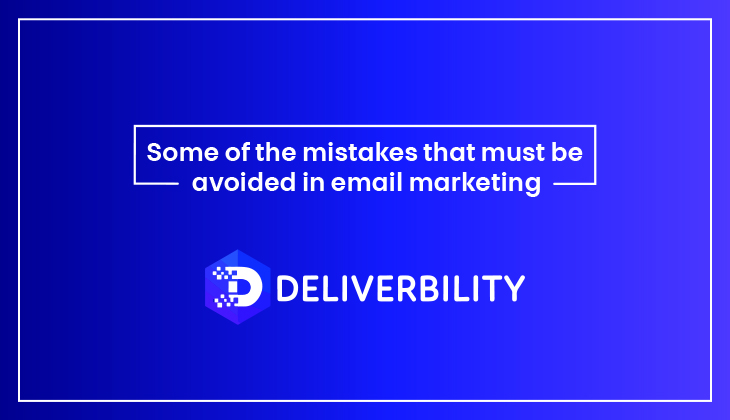 mistakes avoid in email marketing