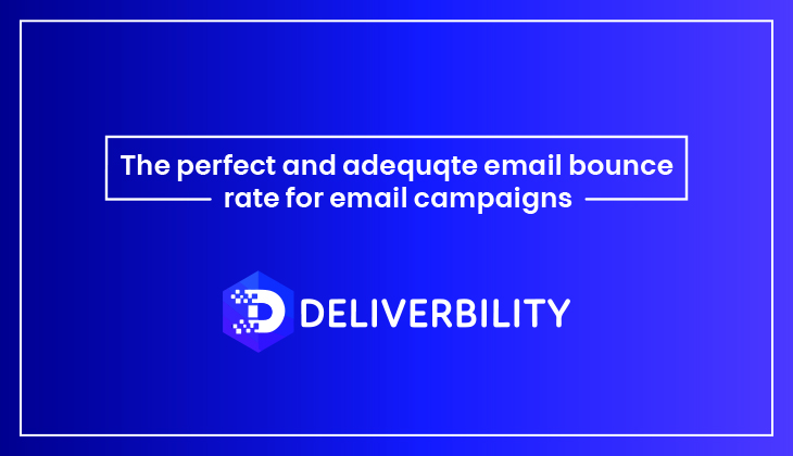 adequate email bounce rate