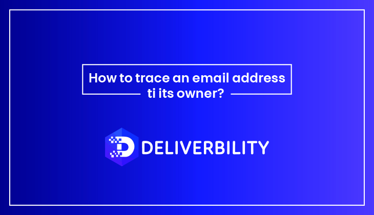 trace an email address