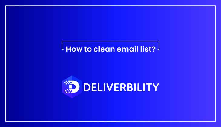 clean your email list