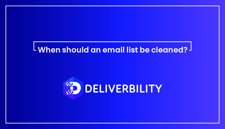 cleaned email list