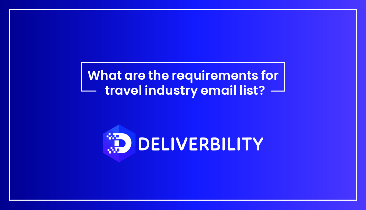 requirements for industry email list