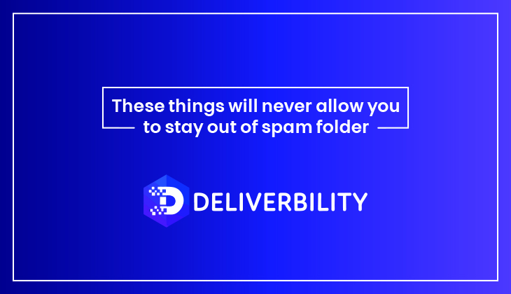 stay out of spam folder