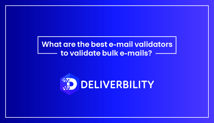 best email validators to validate bulk emails