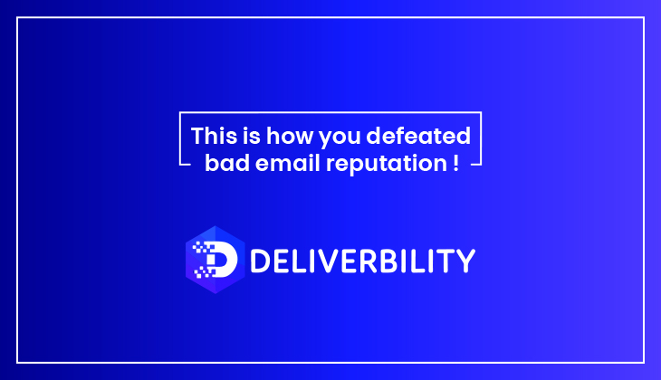 defeated bad email reputation