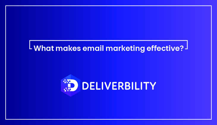 email marketing effective