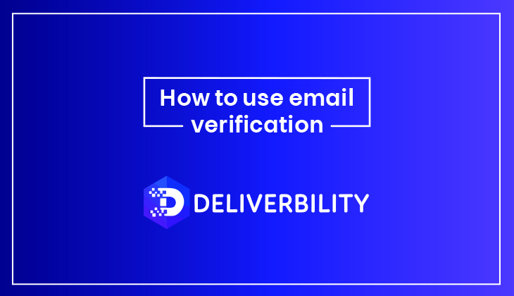 How to Use the Email Verification