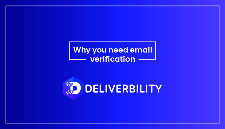 why you need email verification